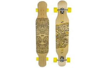 Koston Bambus Longboard Dancer Cruiser Illusion 46.0 x 9.0 inch