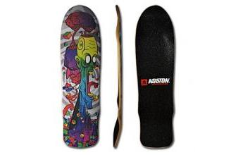 Koston Oldschool Skateboard Deck Two Faces 32.8 x 8.75 inch inkl. Griptape