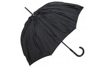 Jean Paul Gaultier womens umbrella with a double pleated fabric in plissé look