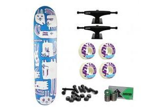Koston Skateboard Set Bunny City - Complete Board