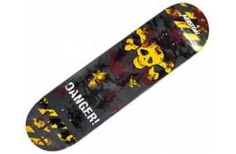 Koston Skateboard Deck Dangerous Road Multicolor 7.75 x 31.75 inch